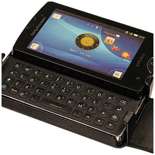 Housse cuir Sony Ericsson Xperia Mini Pro