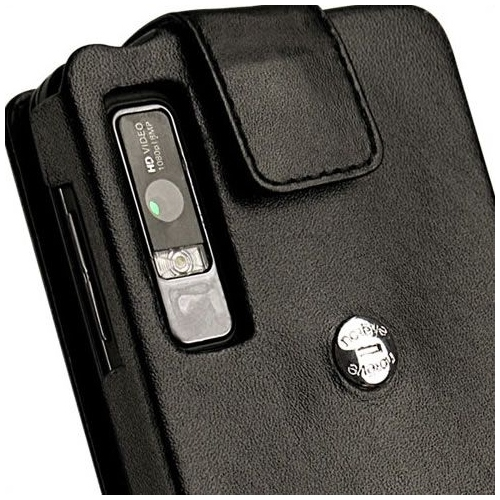 Motorola Milestone 3 - Droid 3  leather case