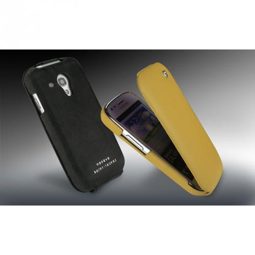 Housse cuir Samsung GT-i8190 Galaxy S III mini