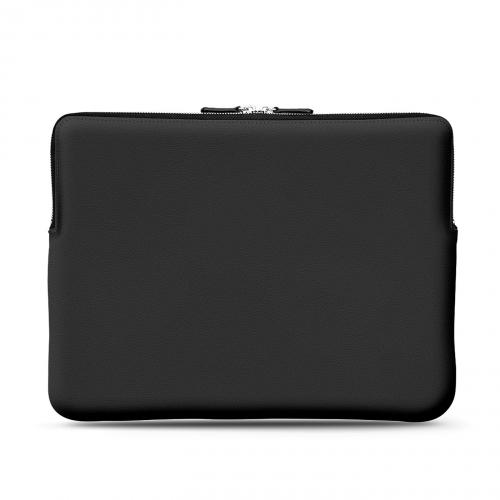 13 인치 Macbook Pro 가죽 케이스 - Griffe 3 - Noir PU