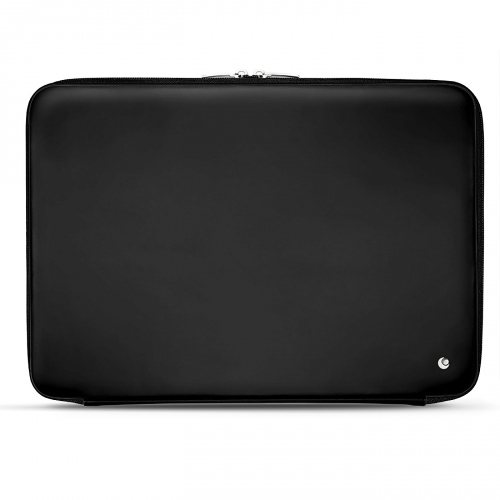 Leather sleeve for 17' laptop - Griffe 2