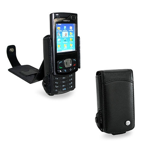 Nokia N80  leather case