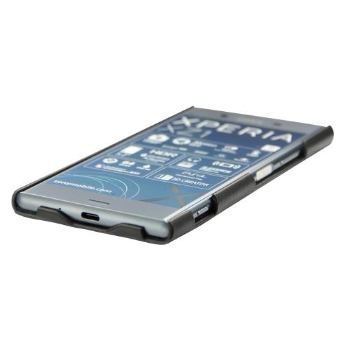 Coque cuir Sony Xperia XZ1