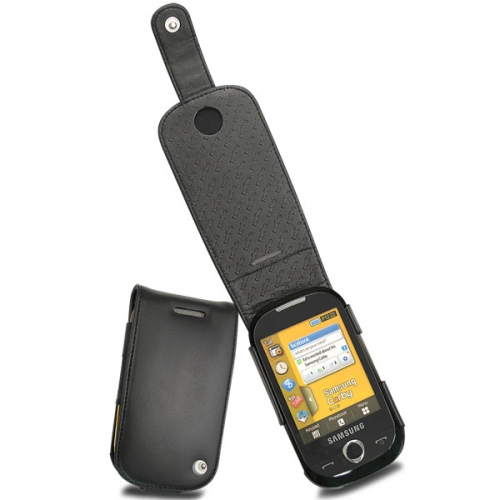 Samsung GT-S3650 Corby  leather case