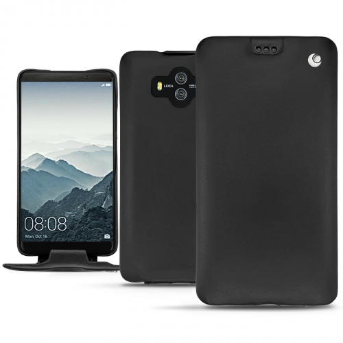 Huawei Mate 10 leather case - Noir ( Nappa - Black )