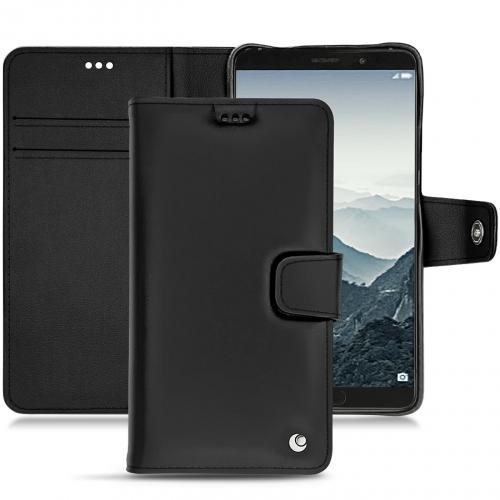 Custodia in pelle Huawei Mate 10 - Noir ( Nappa - Black )