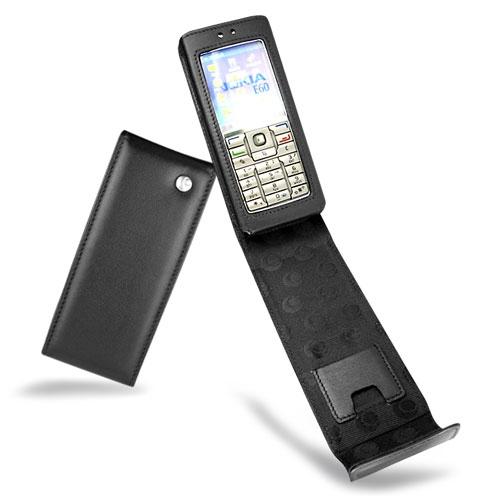 Nokia E60  leather case