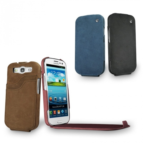 Samsung GT-i9300 Galaxy S III leather case
