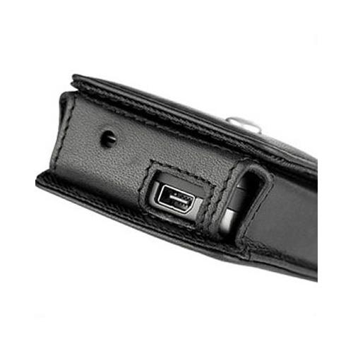 HTC MTeoR - Qtek 8600 - SPV C700  leather case