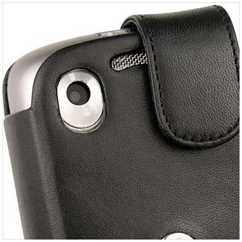 HTC Tattoo  leather case