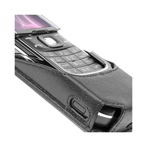 Nokia 8600 Luna  leather case
