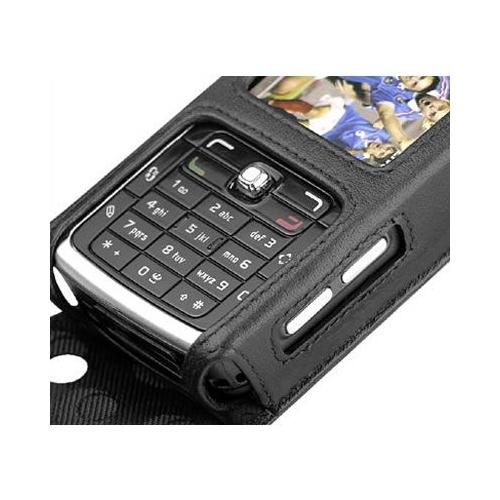 Housse cuir Nokia N77
