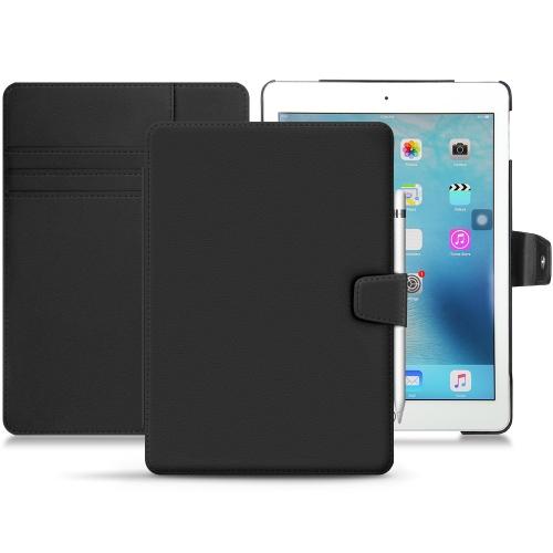 """Apple iPad 9.7"""" (2017) leather case - Noir PU"""
