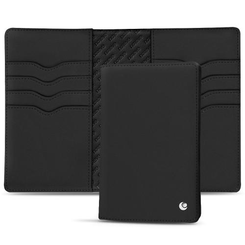 革製パスポートケース - クレジットカード8枚