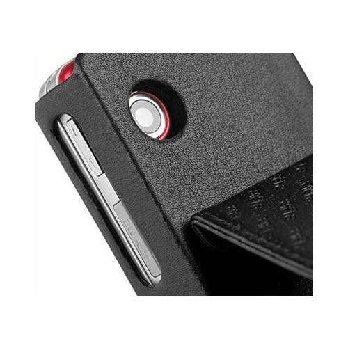 Housse cuir Sony Ericsson W910