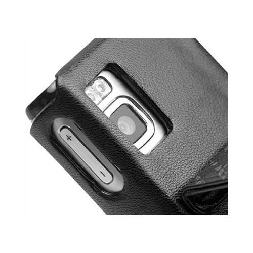 Nokia 6500 Slide  leather case