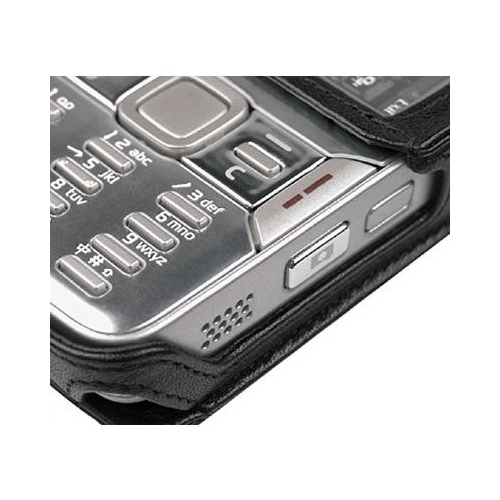 Nokia N82  leather case
