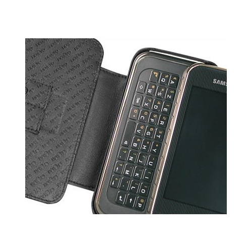 Samsung SGH-F700  leather case