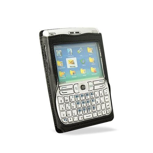 Etui cuir Nokia E61 - E62  Design B