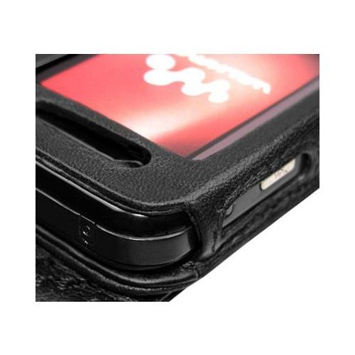 Housse cuir Sony Ericsson W890