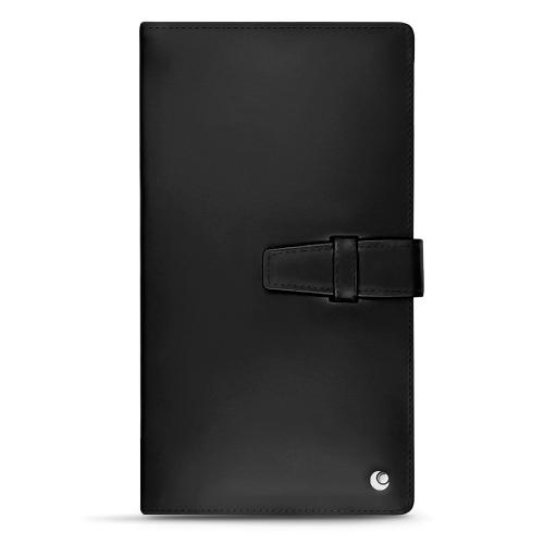 Porte-documents de voyage en cuir