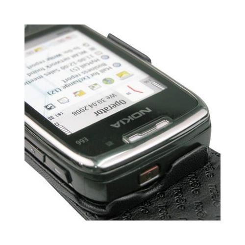 Housse cuir Nokia E66