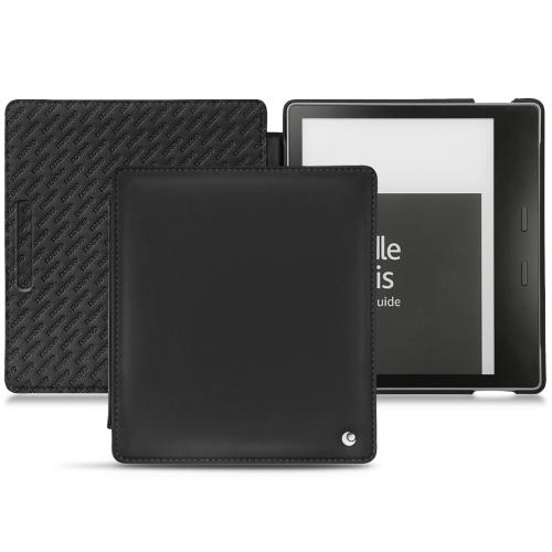 Housse cuir Amazon Kindle Oasis (2017) - Noir ( Nappa - Black )