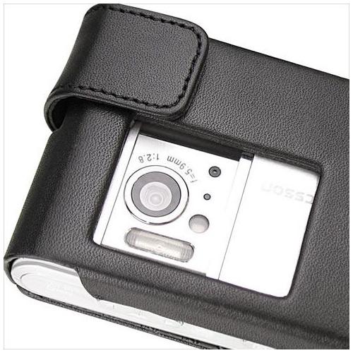 Housse cuir Sony Ericsson Satio - Idou