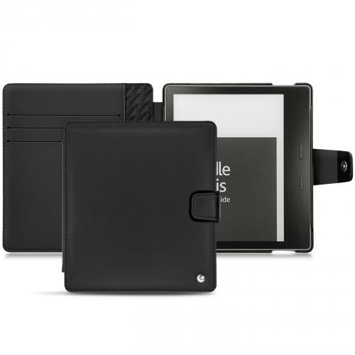 Amazon Kindle Oasis (2017) leather case - Noir ( Nappa - Black )