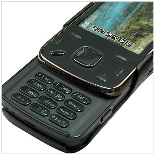 Nokia N86  leather case