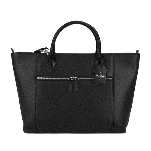 "Urban tote bag - Griffe 1 - 13"" - Ebène ( Sleek P C12 - Black )"