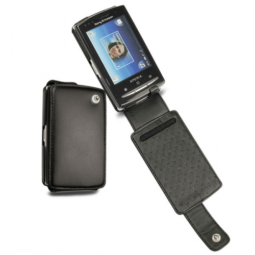 Sony Ericsson Xperia X10 mini pro  leather case