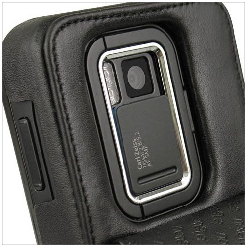 Nokia N900  leather case