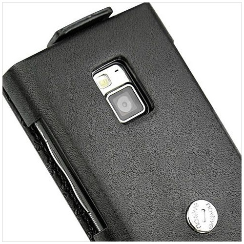 LG BL40 Chocolate  leather case
