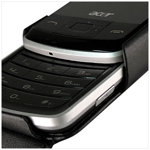 Housse cuir Acer beTouch E200