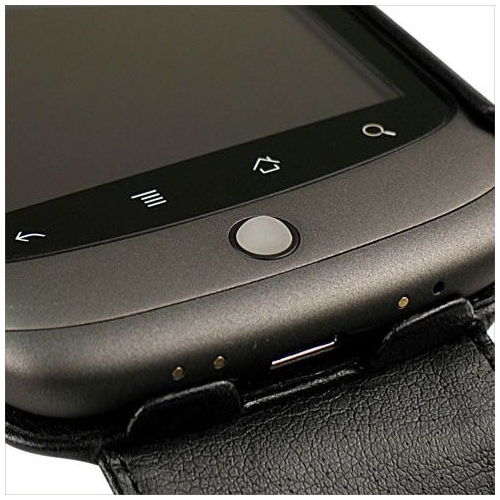Housse cuir Google Nexus One