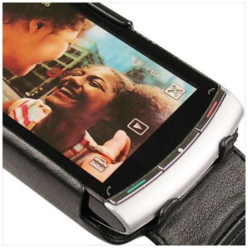 Sony Ericsson Vivaz  leather case