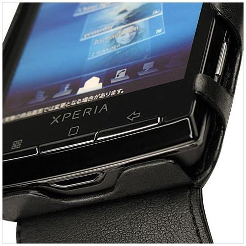 Sony Ericsson Xperia X10  leather case