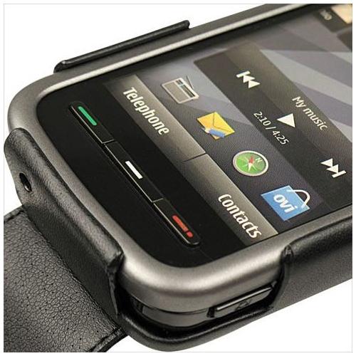 Housse cuir Nokia 5230 - 5235 Comes