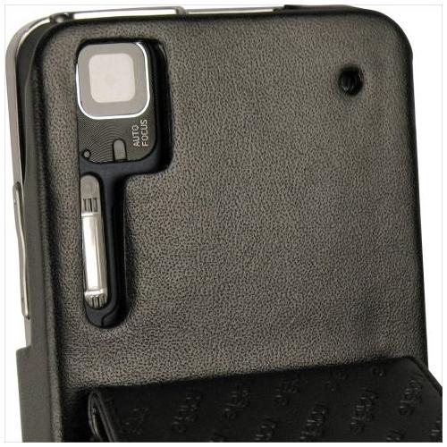 Housse cuir Motorola Milestone XT720