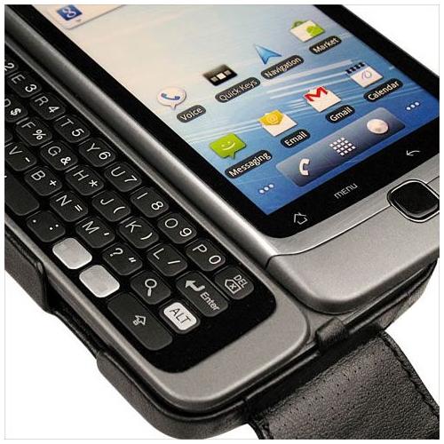 Housse cuir HTC Desire Z