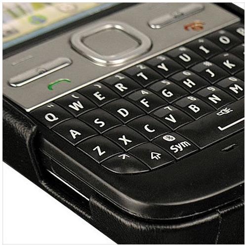 Housse cuir Nokia E5-00