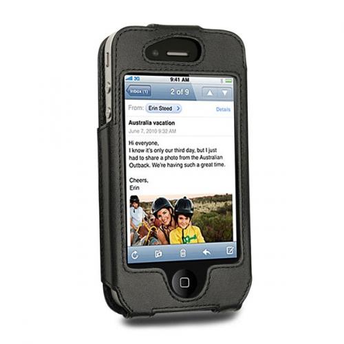 Capa em pele Apple iPhone 4
