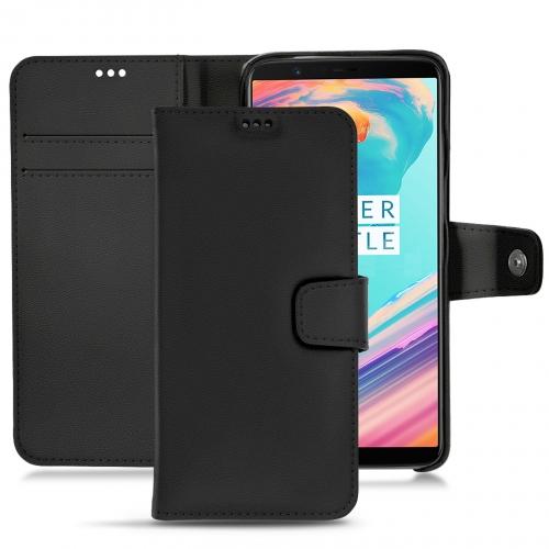Housse cuir OnePlus 5T - Noir PU