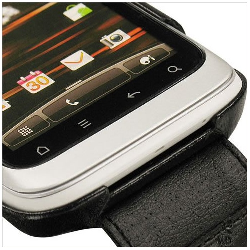 Housse cuir HTC Wildfire S