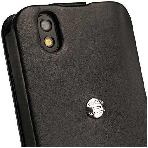 Housse cuir LG Optimus Black
