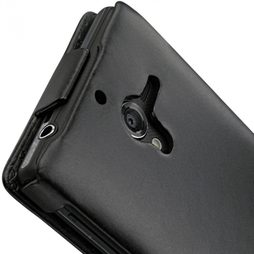Housse cuir Sony Xperia ZL