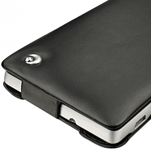 Housse cuir Sony Xperia SP