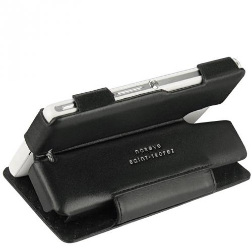 Housse cuir Sony Xperia ZR