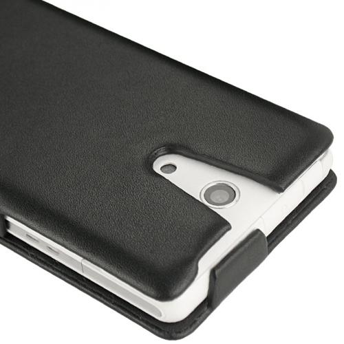 Sony Xperia ZR  leather case
